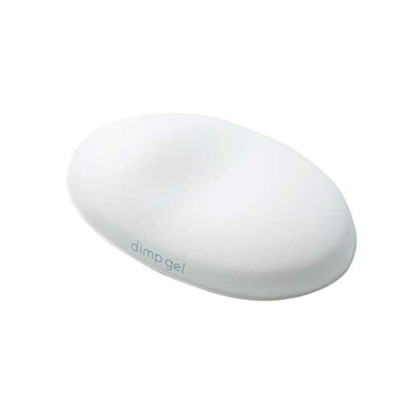 エレコム,リストレスト dimp gel ゲル ホワイト,MOH-DG01WH
