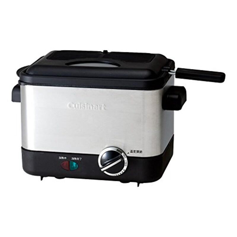 Cuisinart (クイジナート),電気フライヤー バスケット付,CDF-100JBS