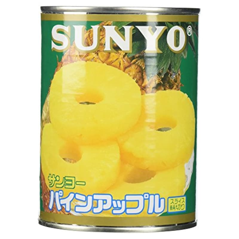 サンヨー,パインアップルスライス輪切り 3号缶