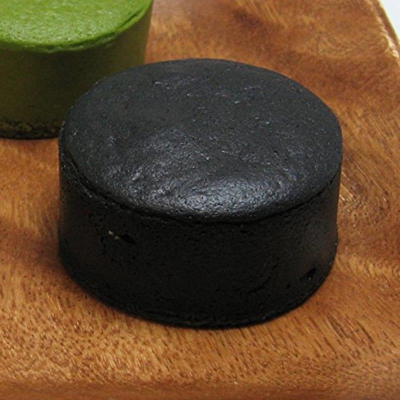 千年の香り 千紀園,竹炭で真っ黒 濃チーズケーキ 黒まる