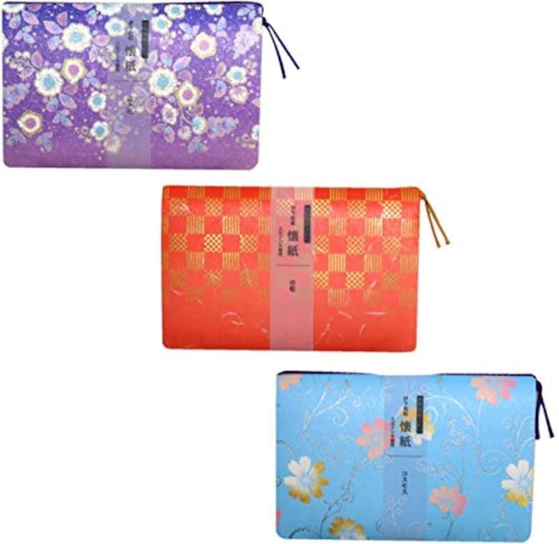カミイソ,懐紙 kimono美 懐紙 ケース付3点