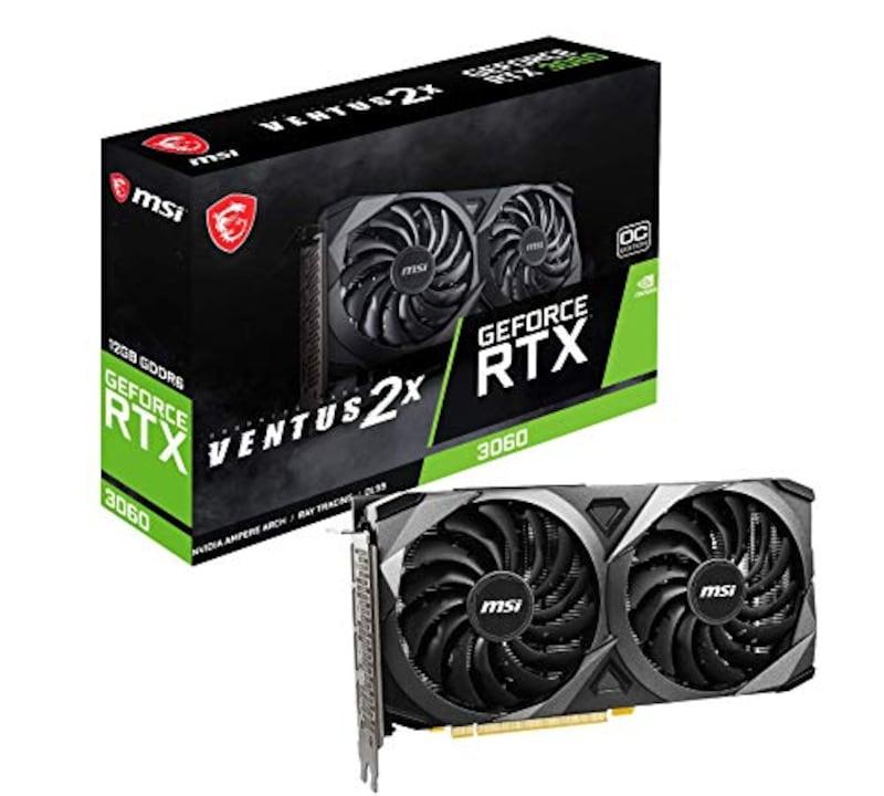 MSI,GeForce RTX 3060 VENTUS 2X 12G OC ,GeForce RTX 3060 VENTUS 2X 12G OC