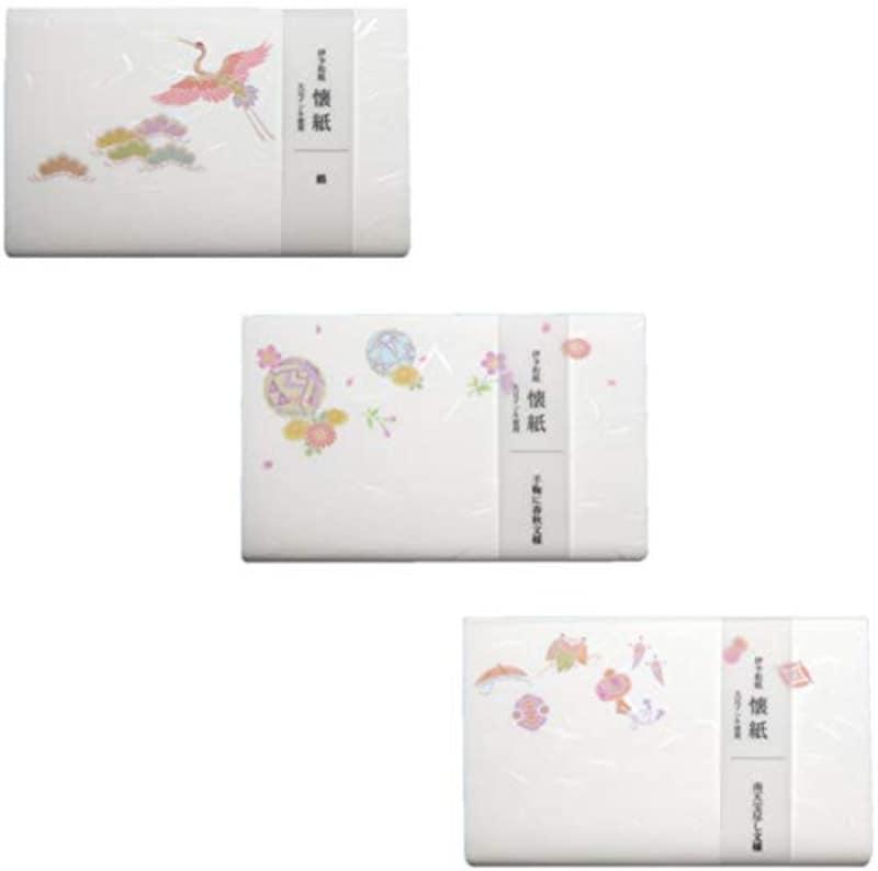 カミイソ,懐紙 kimono美 懐紙 3点
