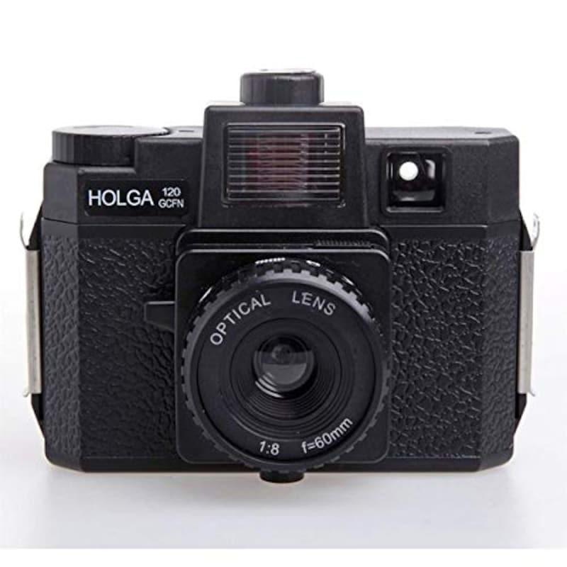 HOLGA ホルガ ,フィルムカメラ H-120GCFN ブラック ブローニーフィルム使用,H-120GCFN
