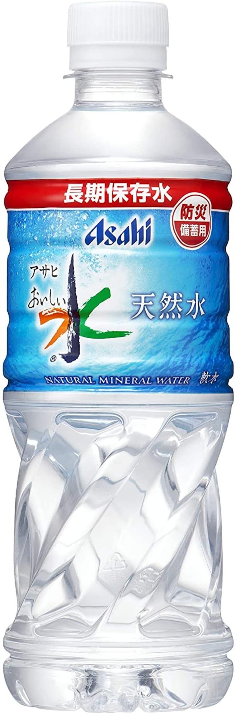 アサヒ飲料,天然水 長期保存水(防災備蓄用) 500ml ×24本
