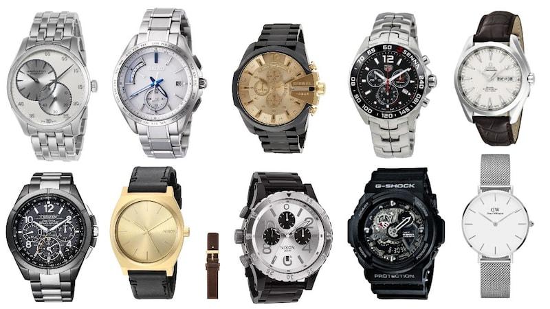 メンズ腕時計おすすめ人気40選!ブランド20選も年代別で紹介!20代・30代・40代の方に!