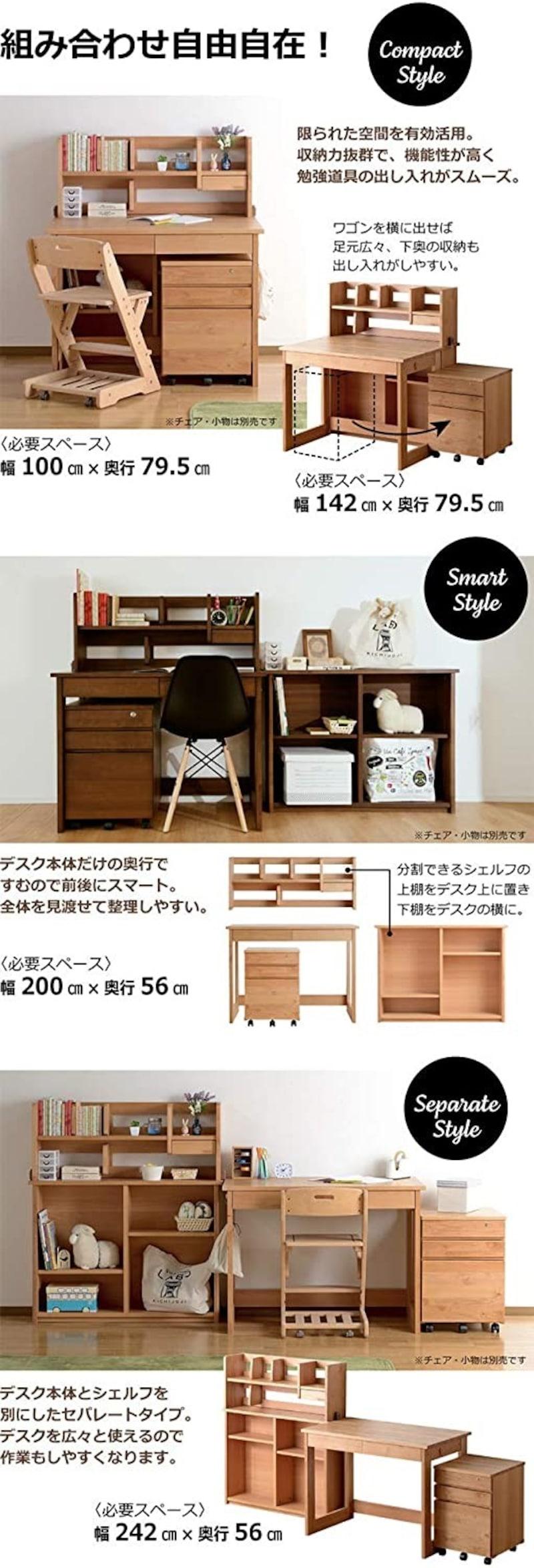 KAGU208,PATTY すくすくデスク,smk-0370