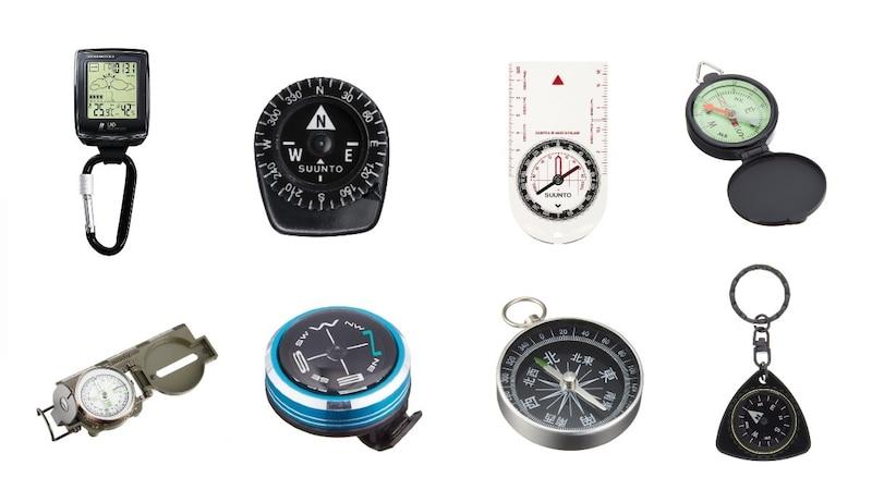 方位磁石おすすめ人気ランキング11選|使い方や見方もあわせて紹介!