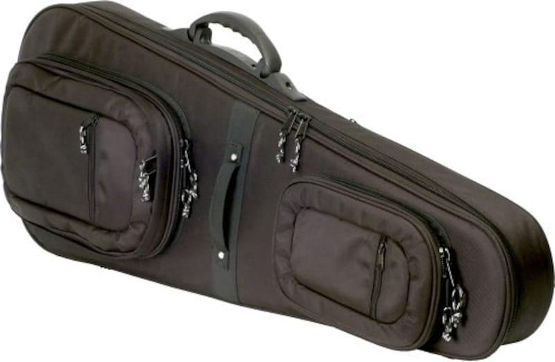 KC,エレキギター用 セミハードケース SHE-120/BK ブラック