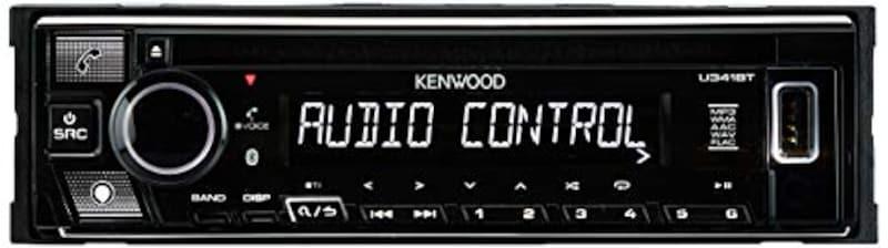 KENWOOD(ケンウッド),1DINオーディオデッキ,U341BT