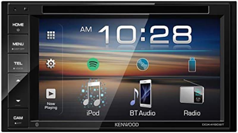KENWOOD(ケンウッド),Bluetooth搭載ディスプレイオーディオ,DDX4190BT
