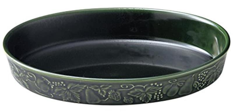 Santo(三陶),萬古焼 レリーフグラタン皿