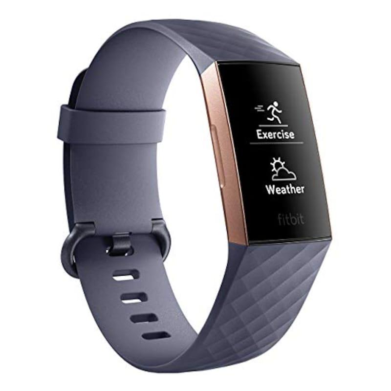 Fitbit(フィットビット),Charge3 フィットネストラッカー ,FB410RGGY-CJK