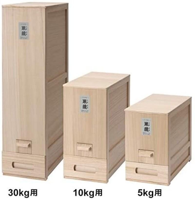 竹本木箱店,米びつ 総桐,la1705-le003