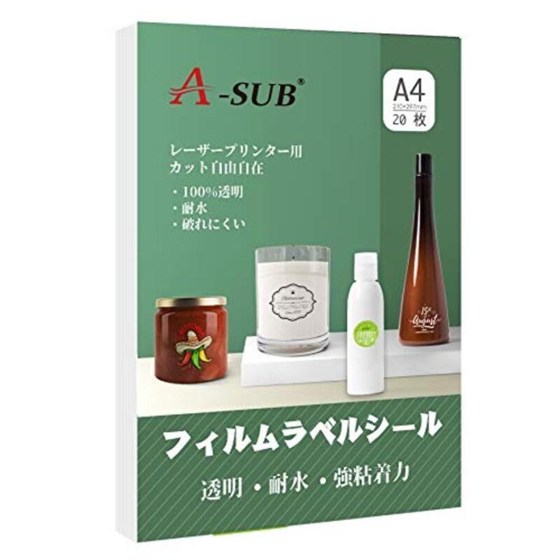 A-SUB,フィルムラベルシール