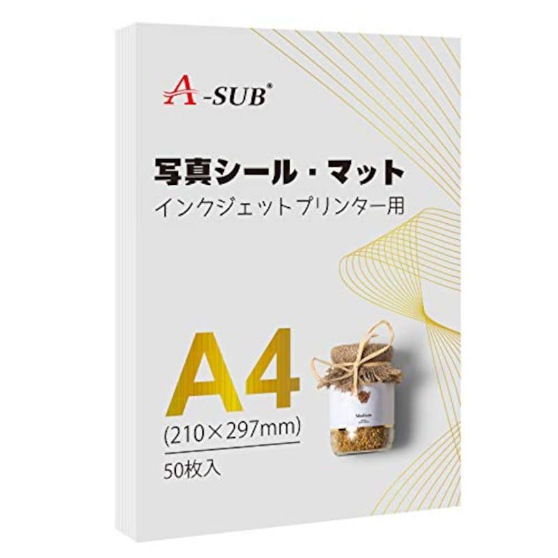 A-SUB,写真シール・マット