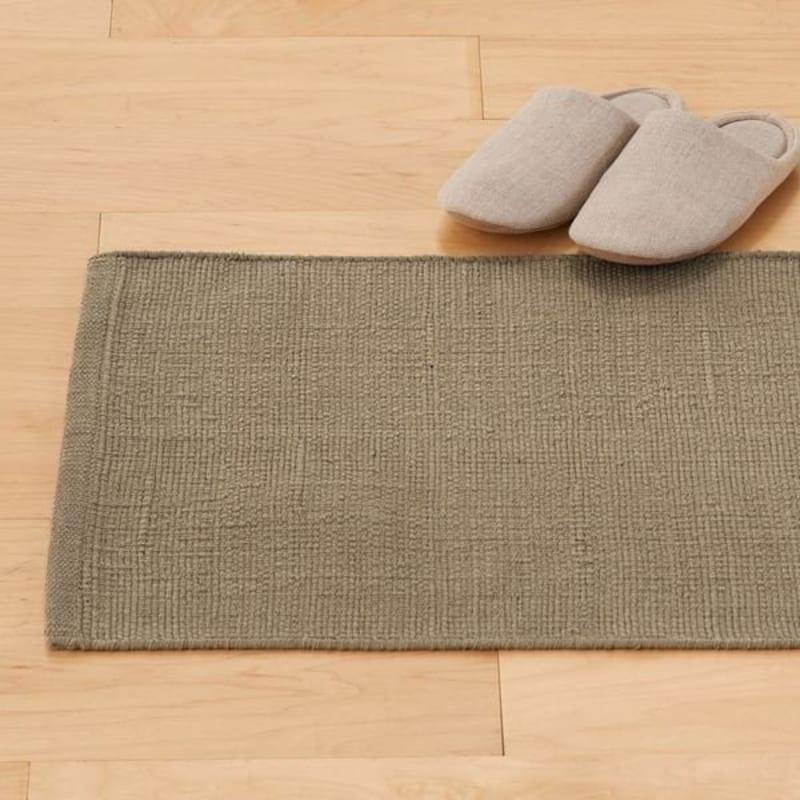 無印良品,インド綿手織マット