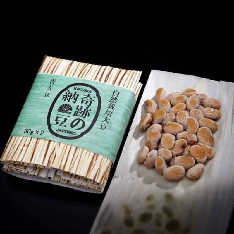 菊水食品,自然栽培大豆 奇跡の納豆