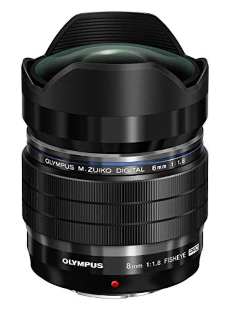 OLYMPUS,交換レンズ ED 8mm F1.8 Fisheye