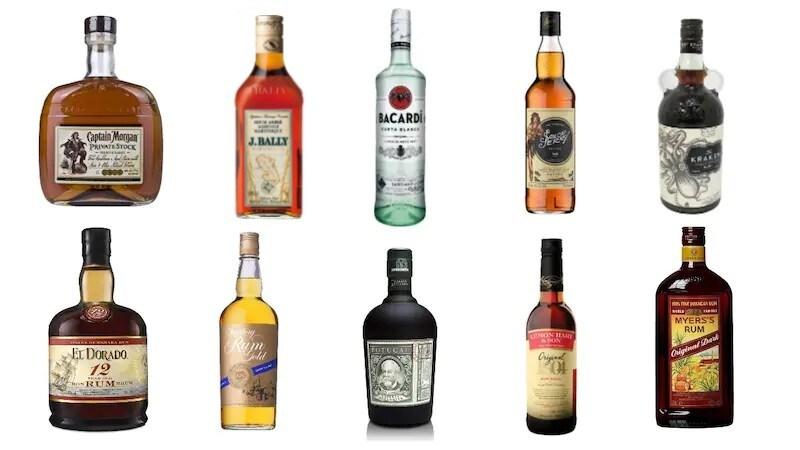 ラム酒のおすすめランキング20選 種類ごとの特徴や人気の飲み方を紹介