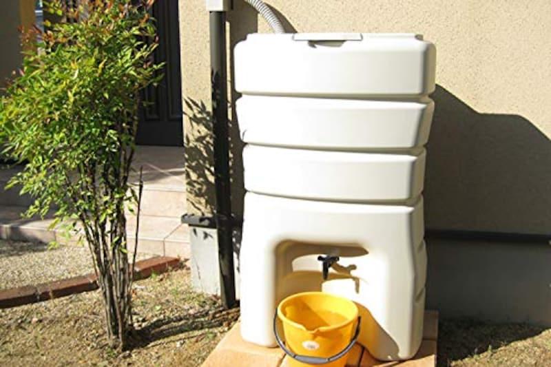 マルトラップ,高品質コンパクト雨水貯留タンク まる140L