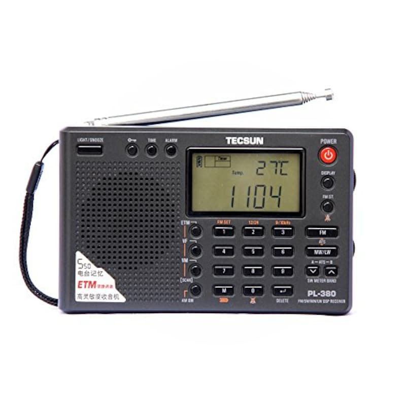 TECSUN,PL‐380 ワールドバンドラジオ,PL-380