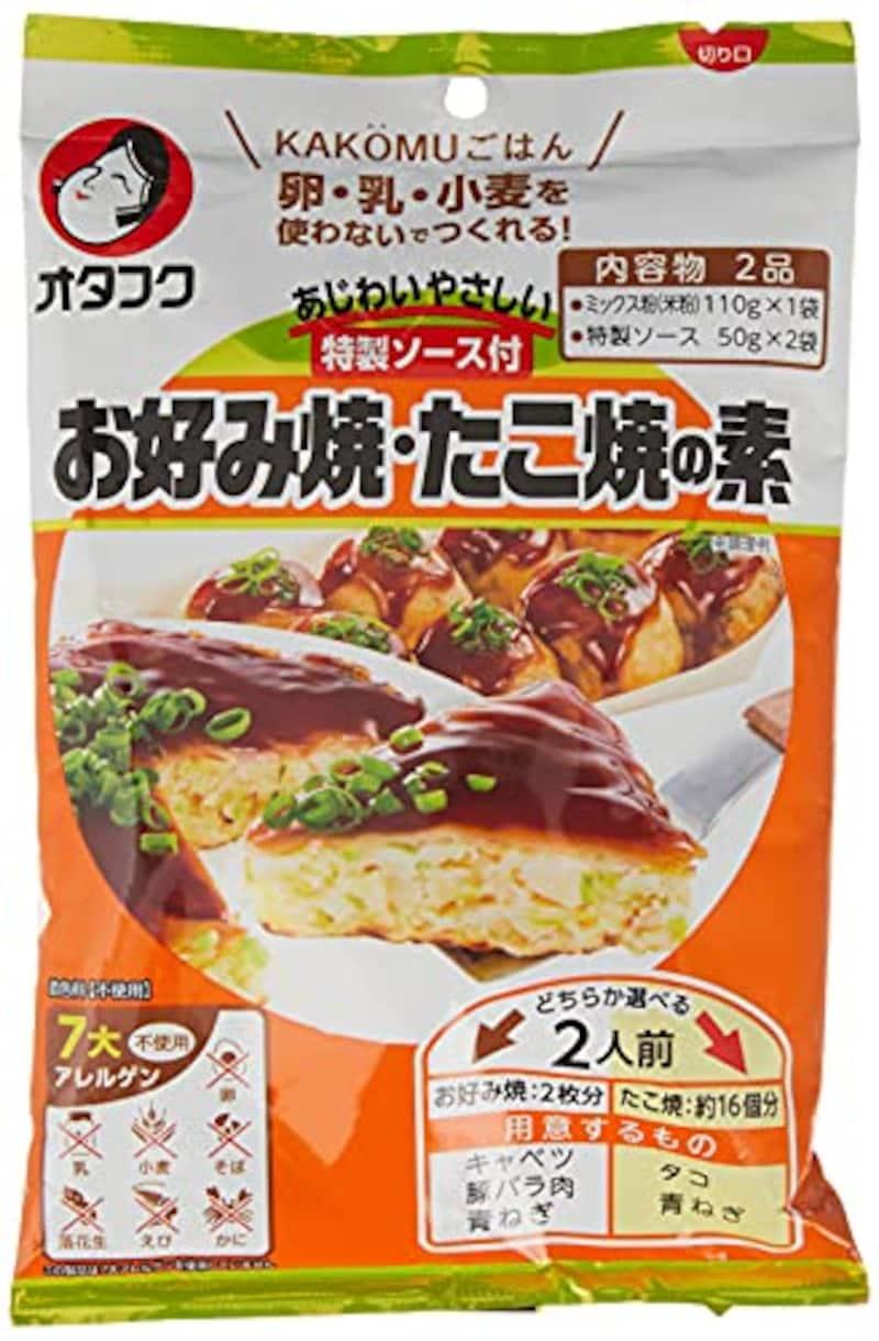 オタフクソース,あじわいやさしい特製ソース付 お好み焼・たこ焼きの素