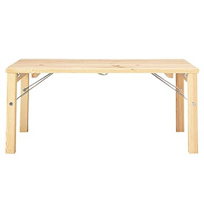無印良品,パイン材ローテーブル,18499434