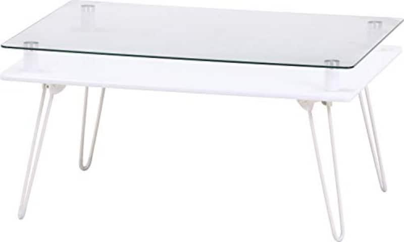 不二貿易,ディスプレイテーブル クラリス ホワイト,84483