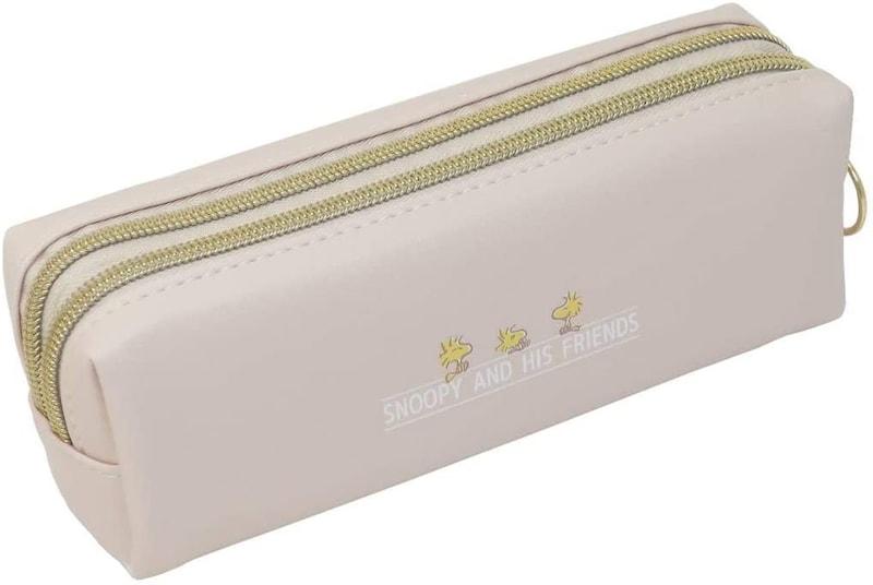 カミオジャパン(Kamiojapan),スヌーピー スリムツインファスナーペンケース