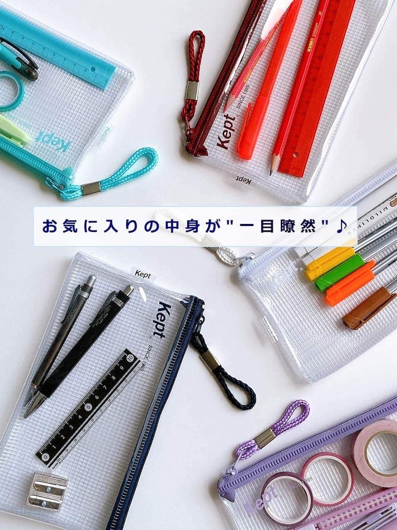 レイメイ藤井,ケプト Kept クリアペンケース,KPF603H