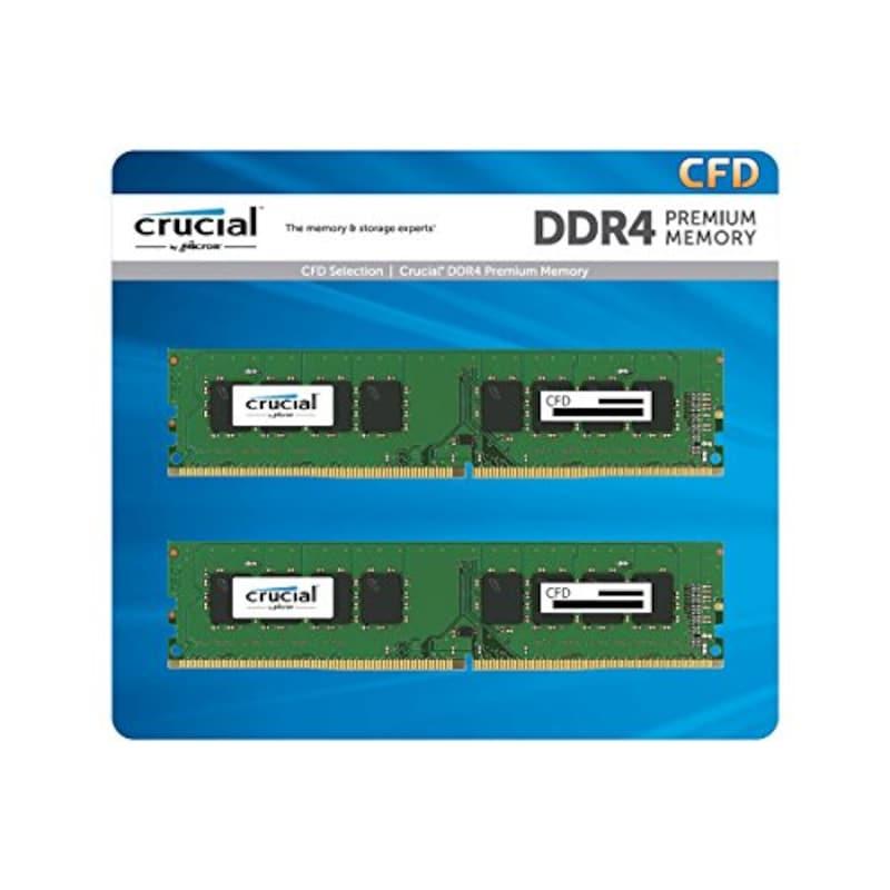 CFD,スタンダードモデル デスクトップPC用メモリ,W4U2400CM-8G