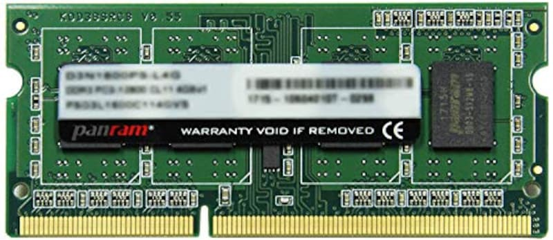 CFD,ノート用メモリ SO-DIMM,D3N1600PS-L8G