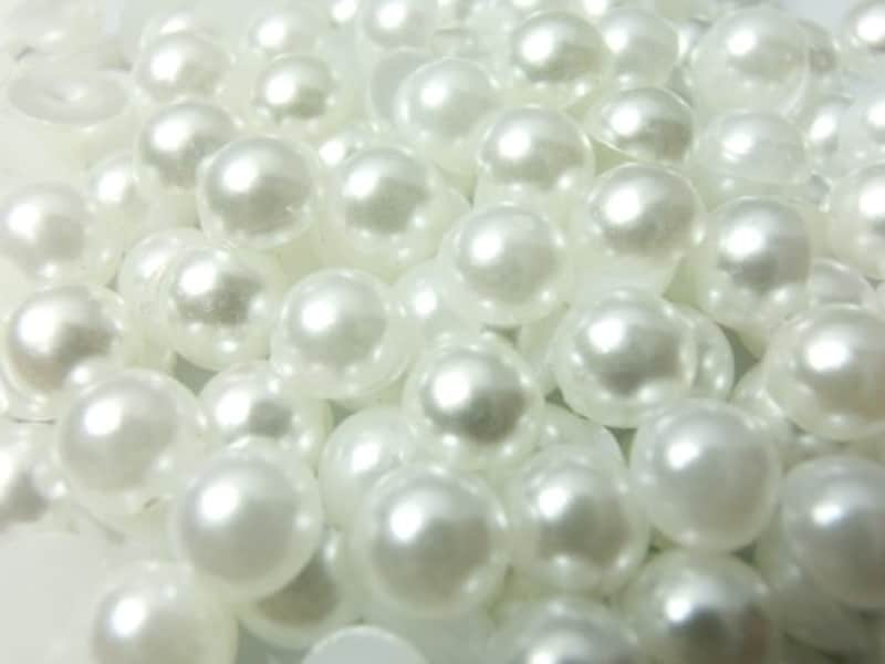 ラインストーン77,超高級 パールストーン  (約400粒)