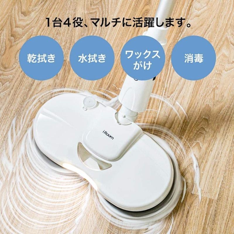 iRoom,電動モップ コードレス クリーナー,UC81