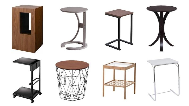 サイドテーブルおすすめ人気ランキング20選 おしゃれな北欧デザインや収納タイプも紹介