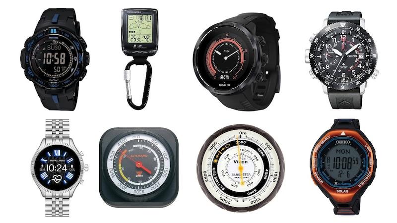 高度計おすすめ人気ランキング18選 登山に便利な腕時計タイプもご紹介
