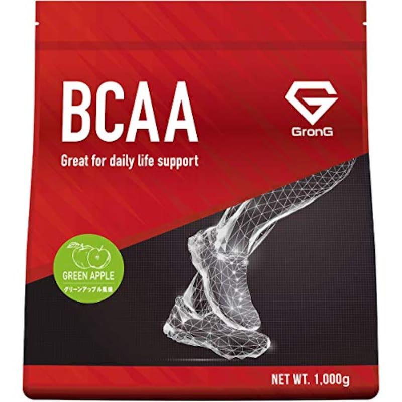 GronG(グロング),BCAA アミノ酸 グリーンアップル風味 1kg