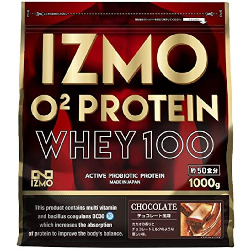 IZMO,O2 プロテインホエイ100 チョコレート風味 1kg