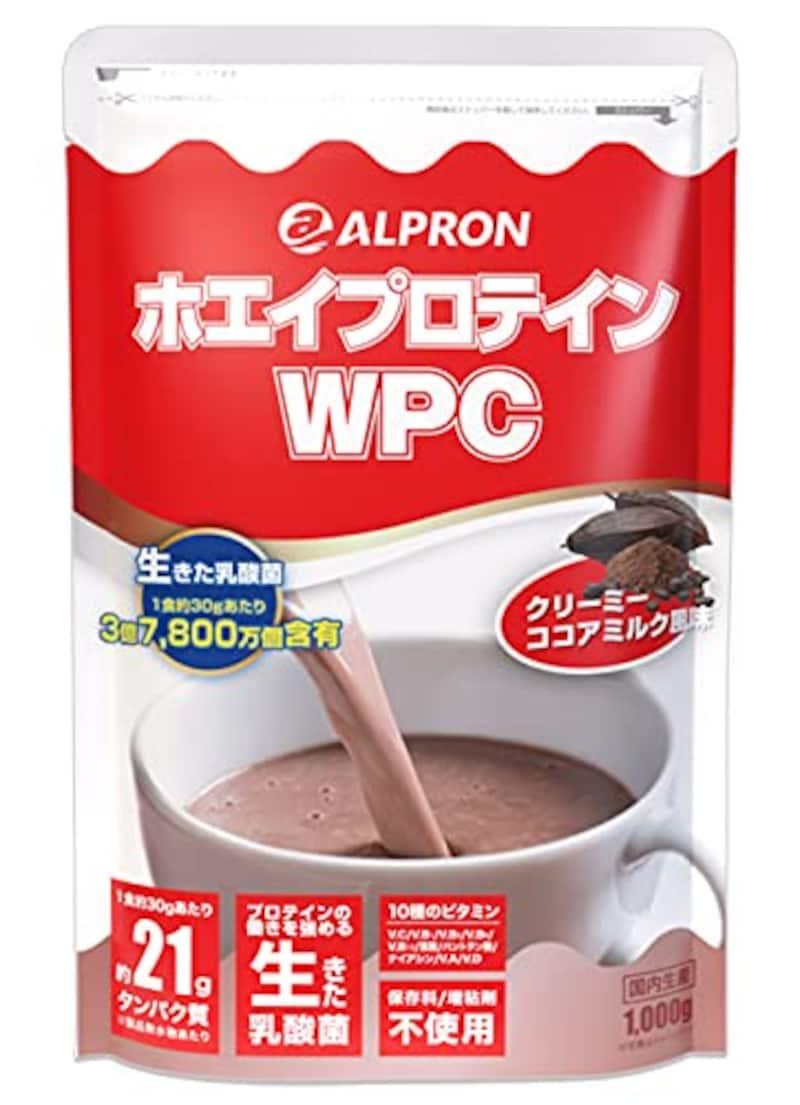 アルプロン,ホエイプロテイン100 ココアミルク 1kg