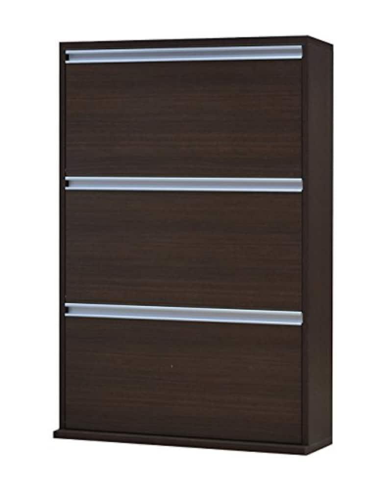 協栄産業,薄型木製シューズボックス,MK703