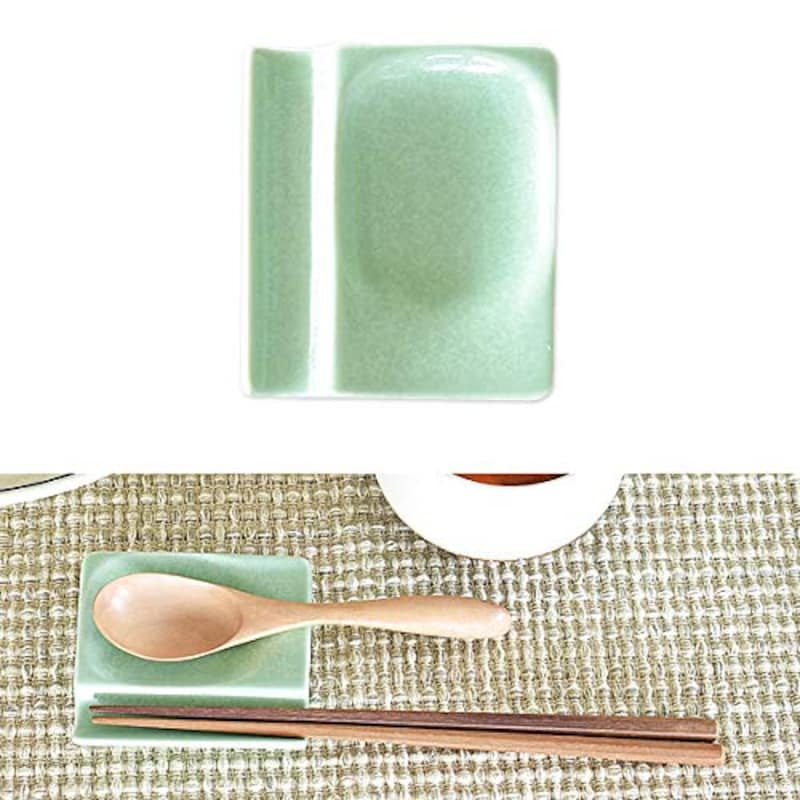 M'home style,小皿にもなるカトラリーレスト箸置き 4個セット,NP-14-tei-10008514-5