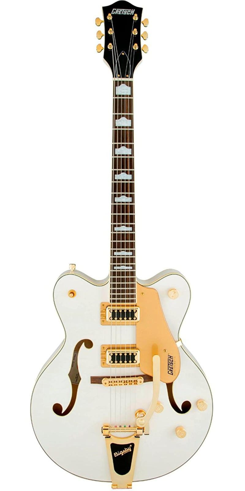 GRETSCH,G5422TG Electromatic Hollow Body Double-Cut with Bigsby Snow Crest White