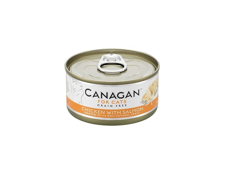 カナガン,キャットフード チキン&サーモン缶