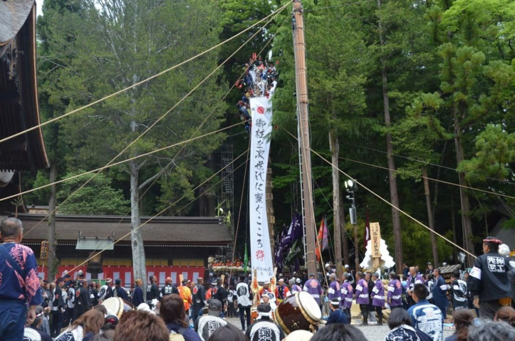 祭りの事故は、基本的に自己責任。