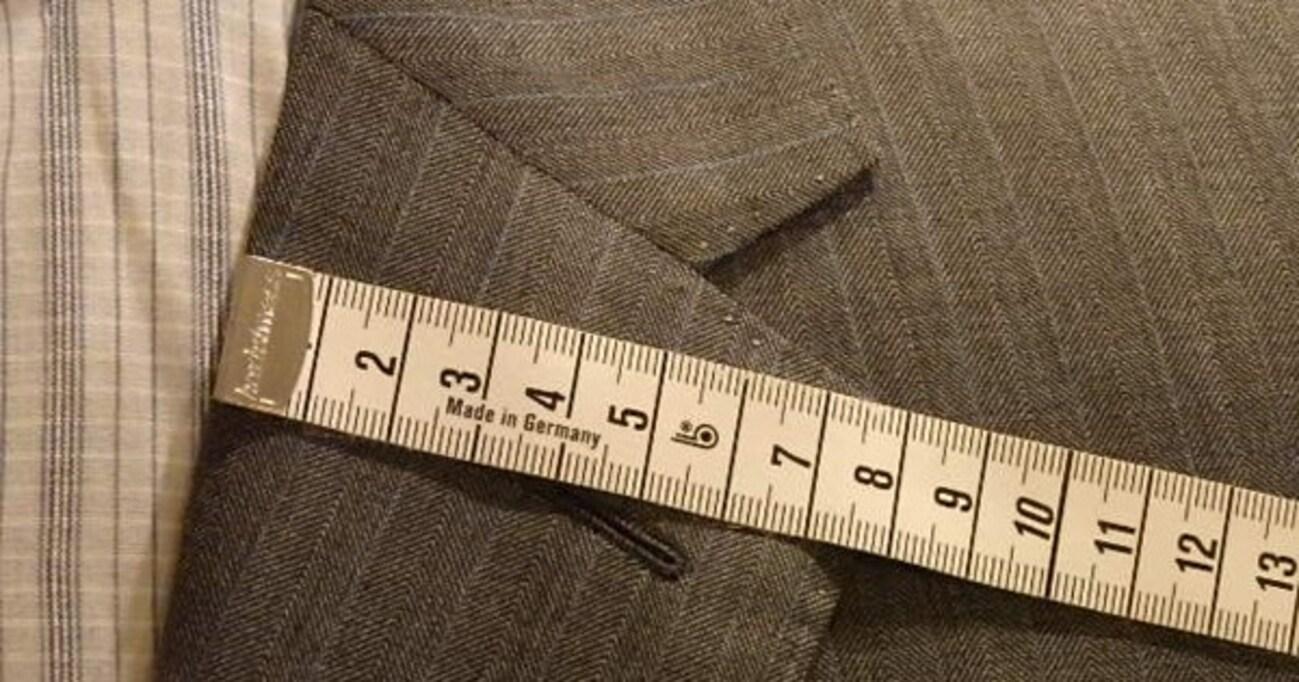 自分らしいバランスが見つかる! ジャケットの「襟幅」の測り方