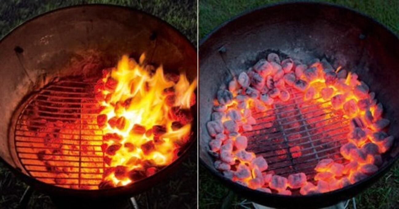 炭火の置き方の基本・6パターンを覚えて、火加減をコントロール!