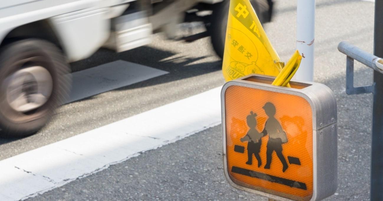 4月に突出する小学1年生の交通事故