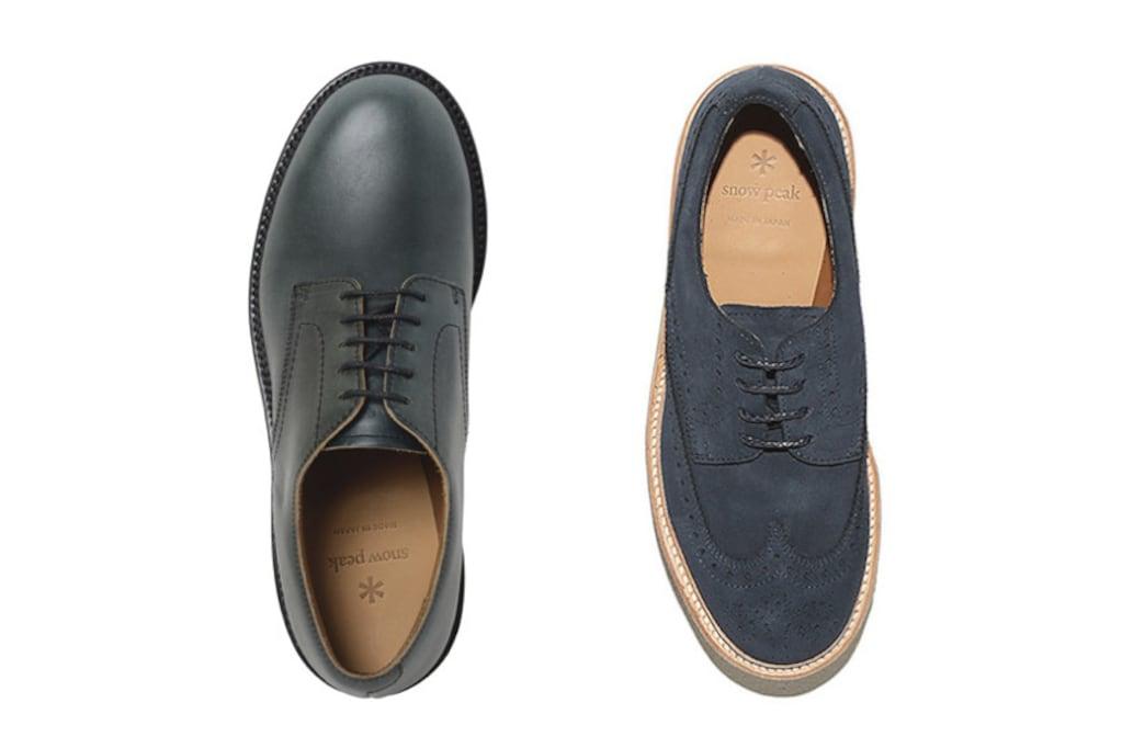 スノーピークが本気の革靴を作るとこうなります。