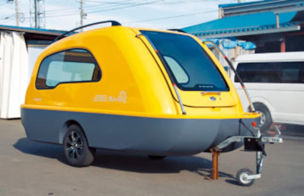 水陸両用キャンピングカー!世界最強のトレーラー「MiniBig」を知っていますか?